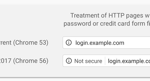 "Chrome Will Mark HTTP Sites ""Not Secure"" in January"