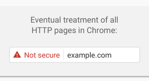 Browser Security Icon Updates and SHA-1 Deprecation
