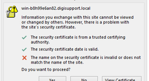 Replace Your Certificates for Internal Names: Part 2