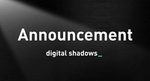 Blog | Why I Joined Digital Shadows: Product, Culture and Opportunity