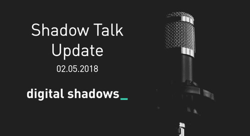 Shadow Talk Update – 02.05.2018