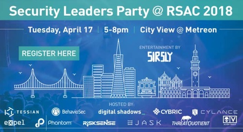 RSA Conference 2018 – Digital Shadows