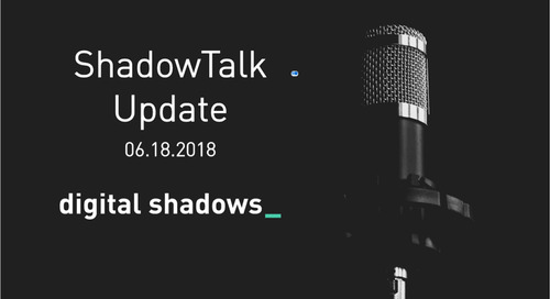 ShadowTalk Update – 06.18.2018