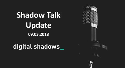 ShadowTalk Update – 09.03.2018