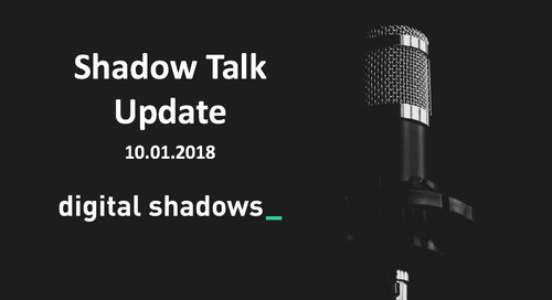 ShadowTalk Update – 10.01.2018
