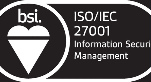 Announcing Digital Shadows' ISO27001 certification