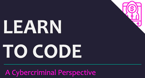To Code or Not to Code? Cybercriminals and the world of programming