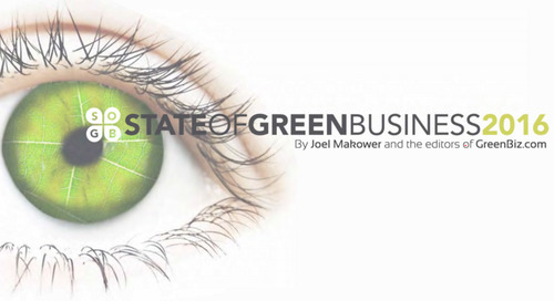 State of Green Business Report