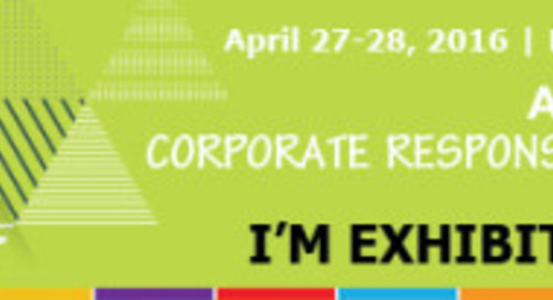 Visit EcoVadis at Automotive Industry Action Group (AIAG) Corporate Responsibility Summit Novi, MI, April 27 – 28
