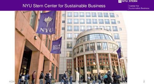 Lancement du Baromètre Achats Responsables EcoVadis en partenariat avec NYU
