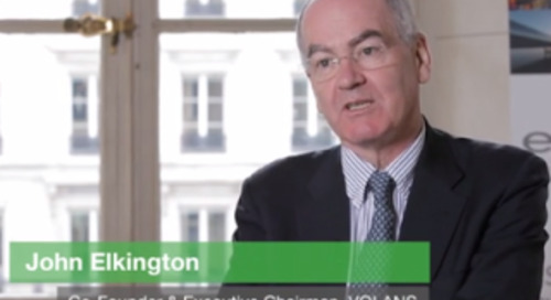Video: John Elkington Discusses the Rising Role of The CPO in Setting Sustainable Business Priorities