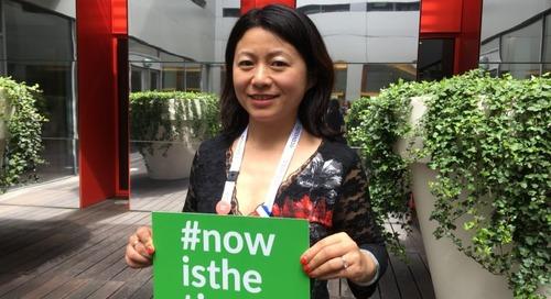Portrait Shui MAHIEU, Sustainable Procurement Manager, Air liquide #Sustain2018