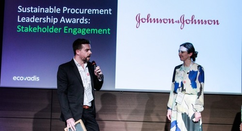 EcoVadis Announces Winners of 2018 Sustainable Procurement Leadership Awards