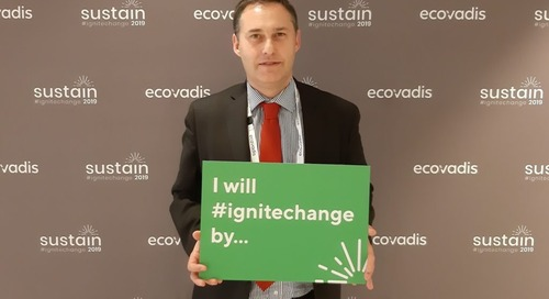 Portrait Thibault De MONTRION, Responsable RSE Orange #Sustain2019