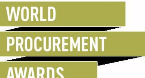 EcoVadis shortlisted for the World Procurement Awards