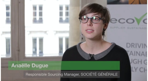Video: Société Générale Puts Sustainability Weighting Into Supplier Selection
