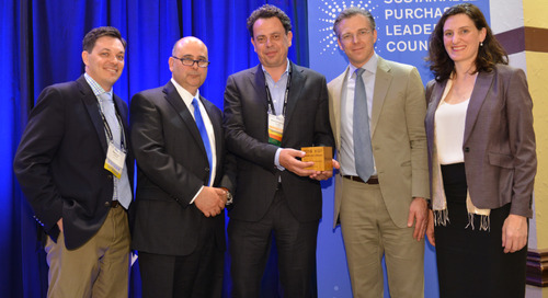 EcoVadis & Together for Sustainability Win SPLC 'Market Transformation Award'