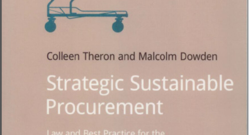 Book Review – Strategic Sustainable Procurement (by Colleen Theron and Malcom Dowden)