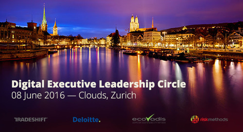 Save the Date: 8th JUNE ZURICH – 4th Digital Leadership Circle