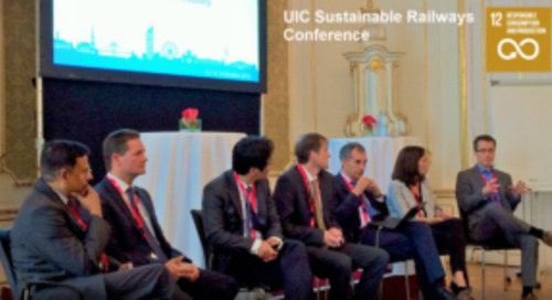 EcoVadis at International Railway Union Sustainability Conference