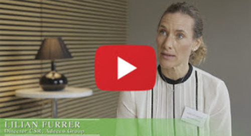 Lilian Furrer (CSR Director, Adecco Group): how CSR is impacting buyer-supplier relationships