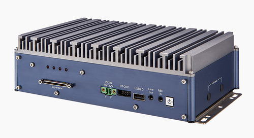 EFCO Announces the High Performance, Fanless Embedded Box PC, SmartMOD, with PoE function
