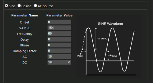 PSpice Walk-through 5: Additional Simulations
