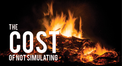 The Cost of Not Simulating