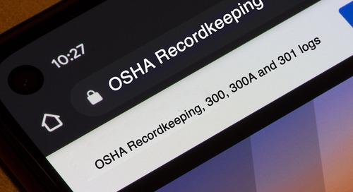 Recorded Webinar: OSHA Recordkeeping (300A & More)