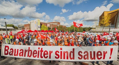 900,000 German Workers Reach Deal With Construction Employers, Avoid Nationwide Strike