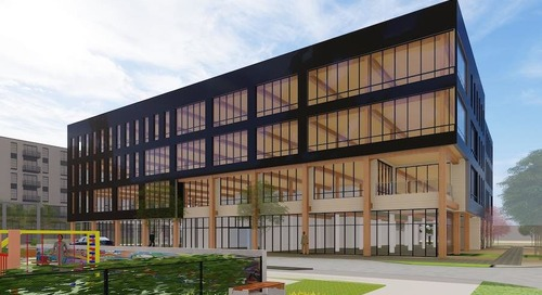 Modified Design Revealed for Baltimore's First Mass Timber Commercial Office Building