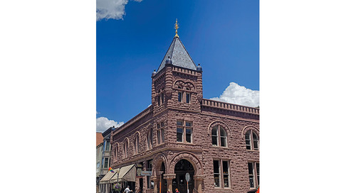 Historic Nugget Building: Best Project Renovation/Restoration