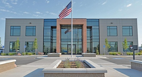 Morgan Asphalt Corporate Office Building and Asphalt Batch Plant: Best Project Specialty Construction