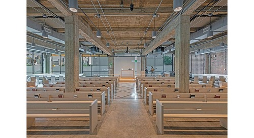 Small Project (under $10 million) Award of Merit All Saints Church Renovation