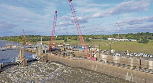 Water/Environment Award of Merit Columbia Lock and Dam Emergency Seepage Repairs