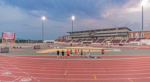 Sports/Entertainment Award of Merit Texas A&M University E.B. Cushing Track & Field Stadium