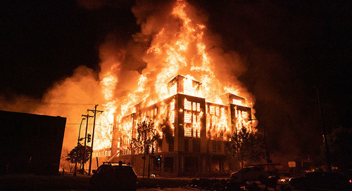 Construction Projects Halted, Fires Set in Several Major US Cities Amid Protests