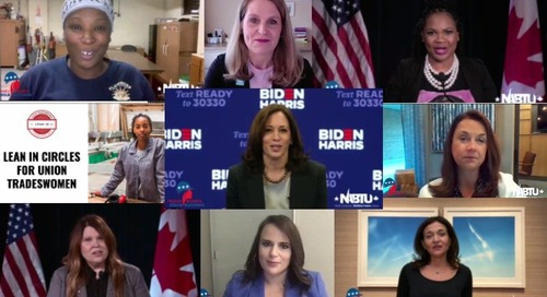 Elections, RBG and Leaning In at Tradeswomen Build Nations 2020