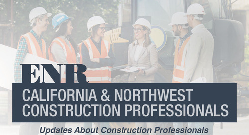 California & Northwest People: Updates About Construction Professionals for October 2020