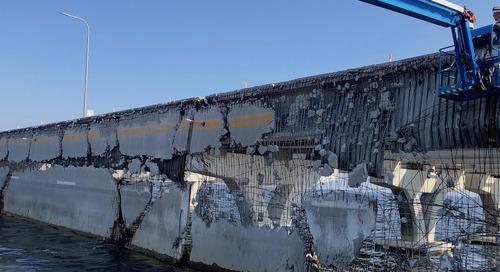 FDOT Steps Up Tear-Down of Damaged Pensacola Bridge