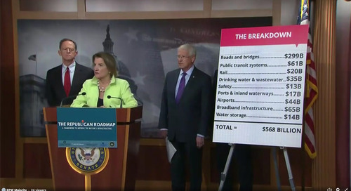 GOP Senators Roll Out $568B Infrastructure Outline