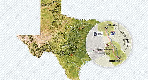 Final Agreement Signed for $16B Texas High-Speed Rail Project