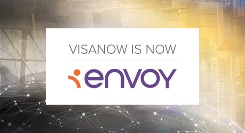 VISANOW is Now Envoy, Here's Why