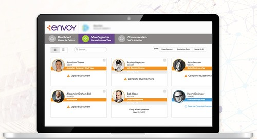 Envoy Launches New Global Immigration Case Management Platform