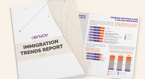 Envoy Immigration Trends 2016 survey: Mapping trends in employment-based immigration
