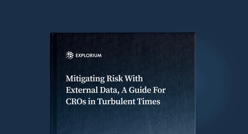 Mitigating Risk With External Data, A Guide For CROs