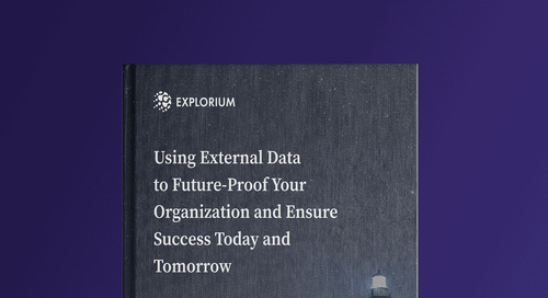 Using External Data to Future-Proof Your Organization and Ensure Success Today and Tomorrow