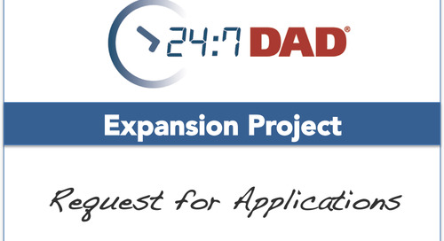 Request for Applications: Expanding the 24/7 Dad® Program in Select Western States