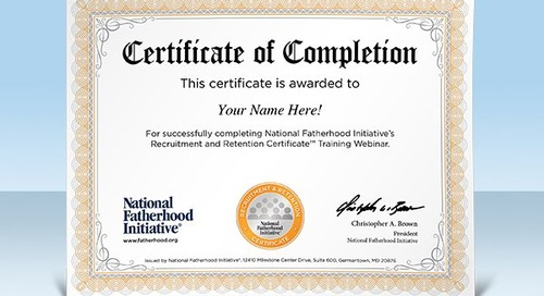 Announcing NFI's NEW Recruitment and Retention Certificate™