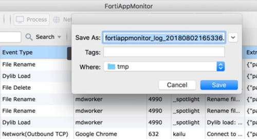 FortiAppMonitor: A Powerful Utility for Monitoring System Activities on macOS